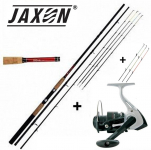 Prut Giants Fishing CLX Feeder TR 12ft Medium + Jaxon Bonzo 30 + 7 špiček !