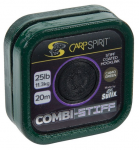 CARP SPIRIT COMBI STIFF-COATED BRAID- CAMO GREEN 20m