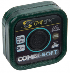 CARP SPIRIT COMBI SOFT-COATED BRAID- CAMO GREEN 20m
