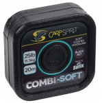 CARP SPIRIT COMMBI SOFT-COATED BRAID- BLACK SILT 20m