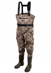 Prologic prsačky MAX5 Nylo-Stretch Chest Waders W/Cleated Sole    vel. 44/45