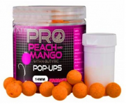 Boilie plovoucí Starbaits Probiotic PEACH AND MANGO POP-UPS 14mm 60g