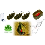 Extra Carp Method Feeder IN LINE SET 3+1(20g,25g,30g + formička)