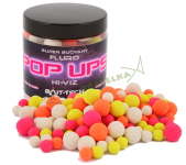 Boilies Fluro Pop ups BAIT-TECH Pineapple Squid 10/15mm 250ml