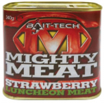Konzerva BAIT-TECH Mighty Meat Strawberry 340g
