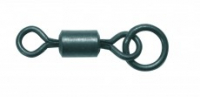 Obratlíky s kroužkem CARP R US  Ring Swivel vel. 8 – 8ks