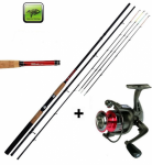 Prut Giants Fishing CLX Feeder TR 11ft Medium + naviják zdarma!