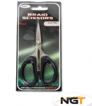 NGT Nůžky Braid Scissors Black