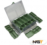 Krabička NGT Tackle Box System 6+1
