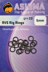 Ashima O kroužek RVS Rig Rings 5 mm 20ks