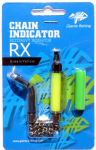 Řetízkový indikátor Giants Fishing Chain Indicator RX Green/Yellow