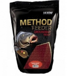 Jaxon Method Feeder Ground Bait ready